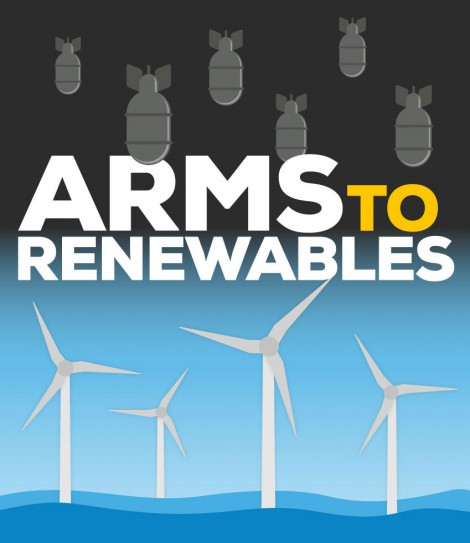 Arms to renewables