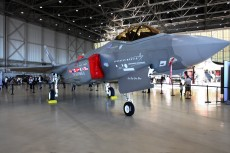Photograph of a F-35 plane